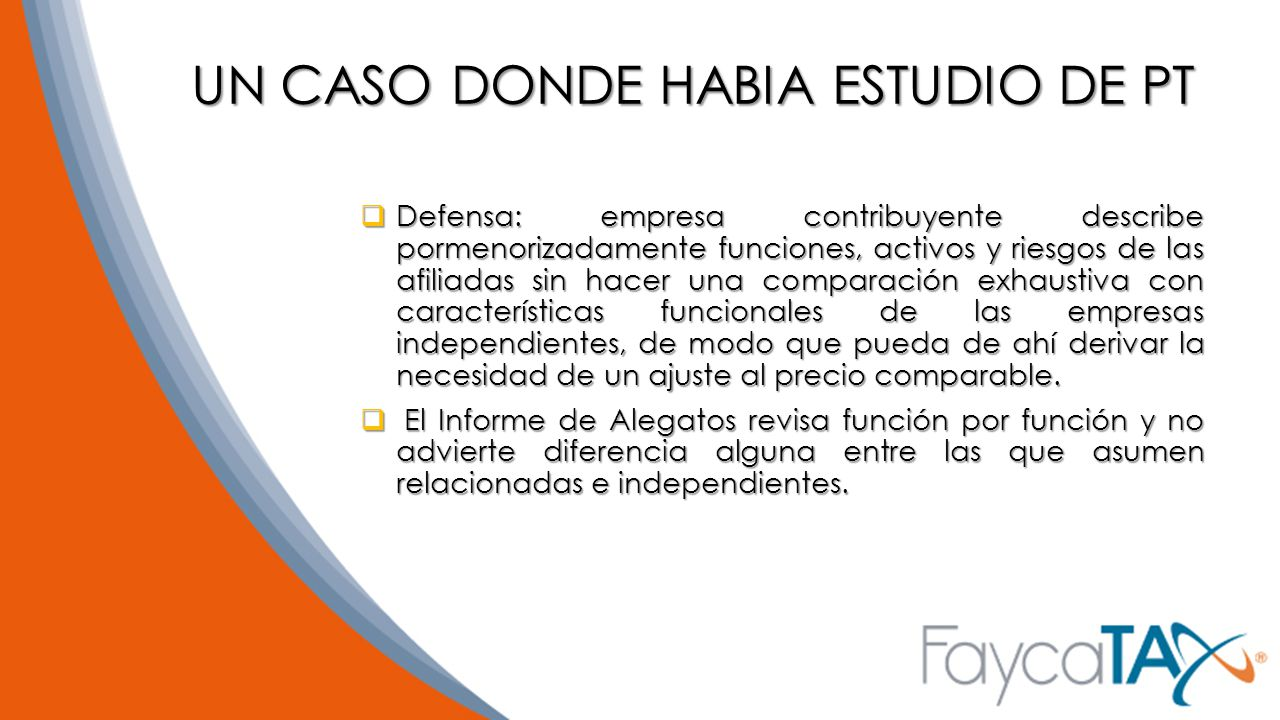 UN CASO DONDE HABIA ESTUDIO DE PT
