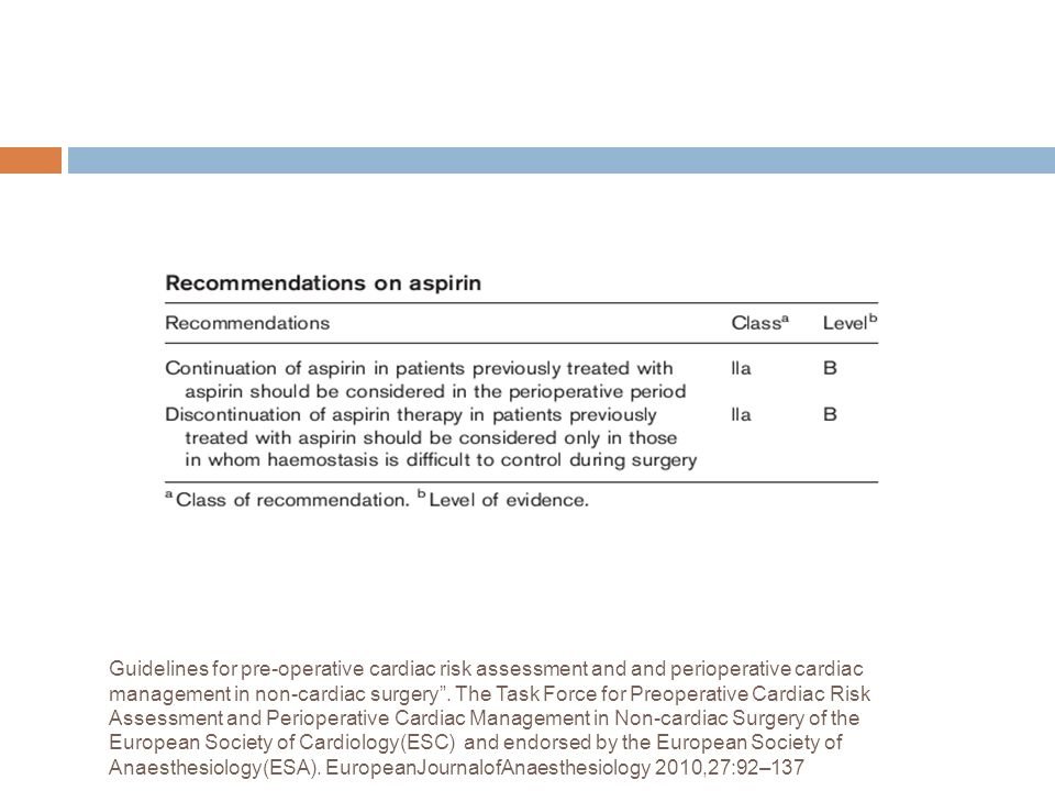 Guidelines for pre-operative cardiac risk assessment and and perioperative cardiac management in non-cardiac surgery .