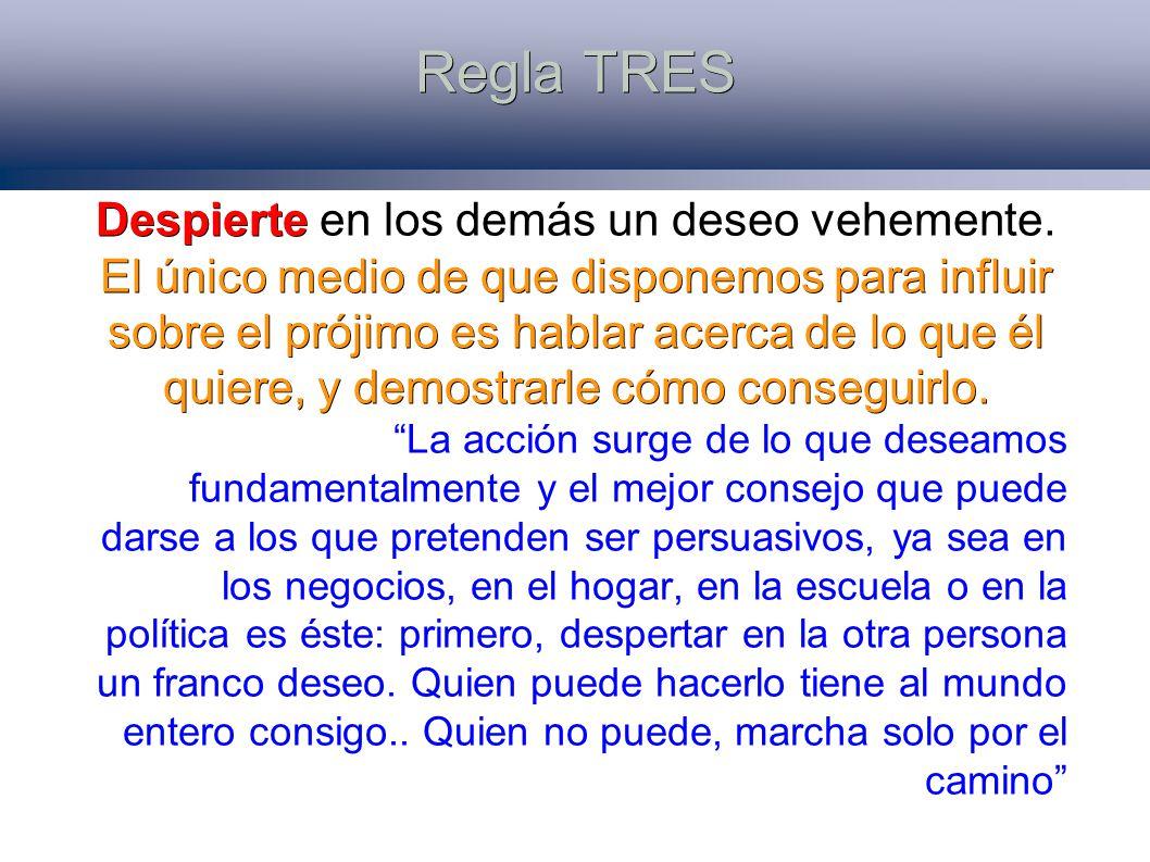 Regla TRES