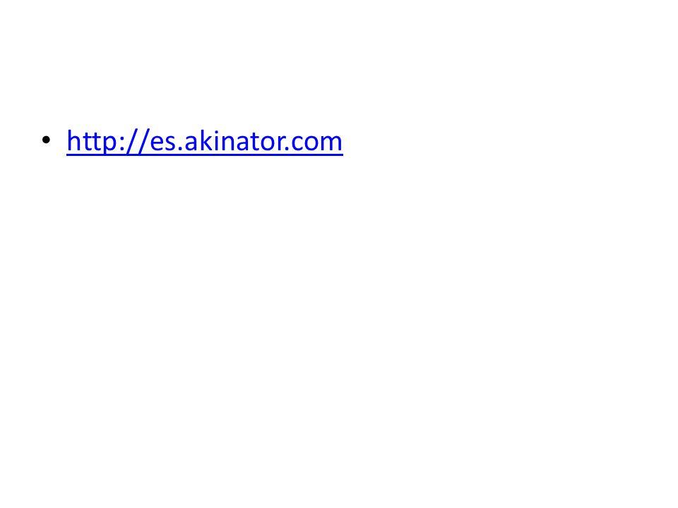 http://es.akinator.com
