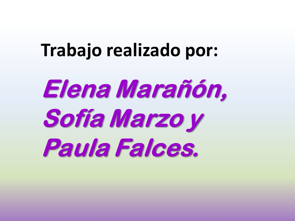 Elena Marañón, Sofía Marzo y Paula Falces.