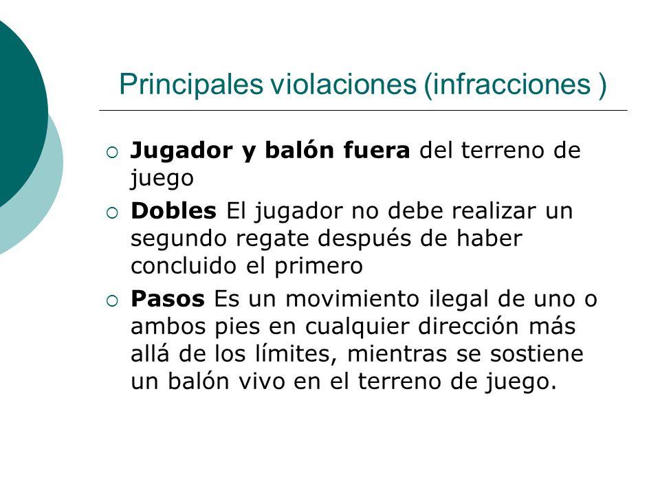 Principales violaciones (infracciones )