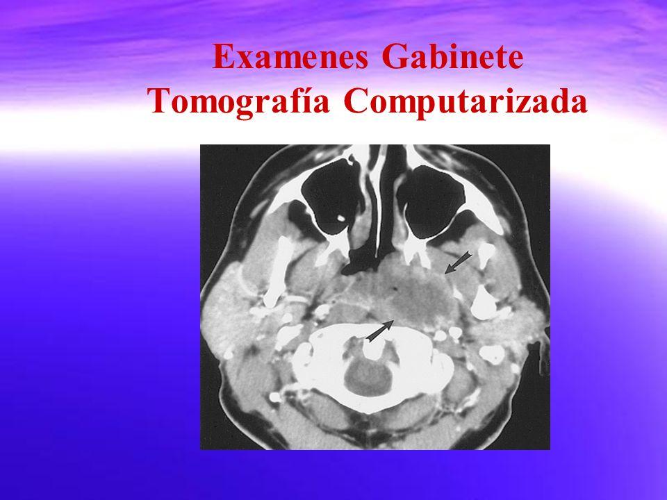 Examenes Gabinete Tomografía Computarizada