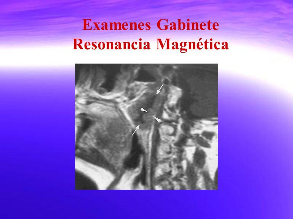 Examenes Gabinete Resonancia Magnética