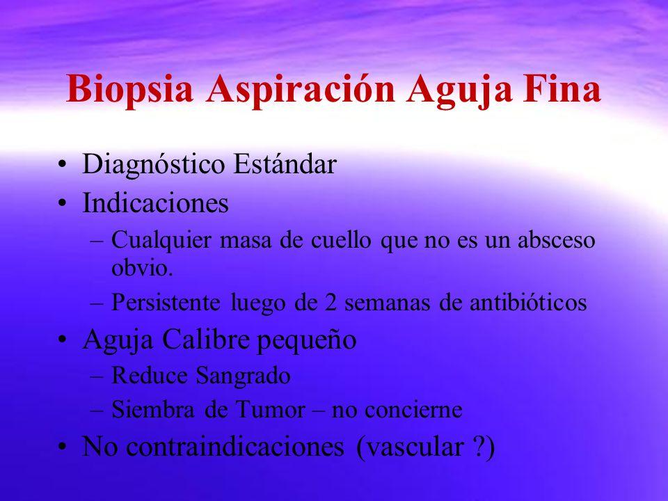 Biopsia Aspiración Aguja Fina