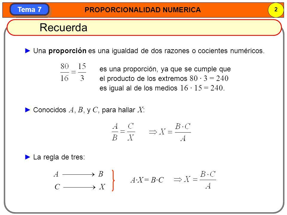 Recuerda A  B A·X = B·C C  X