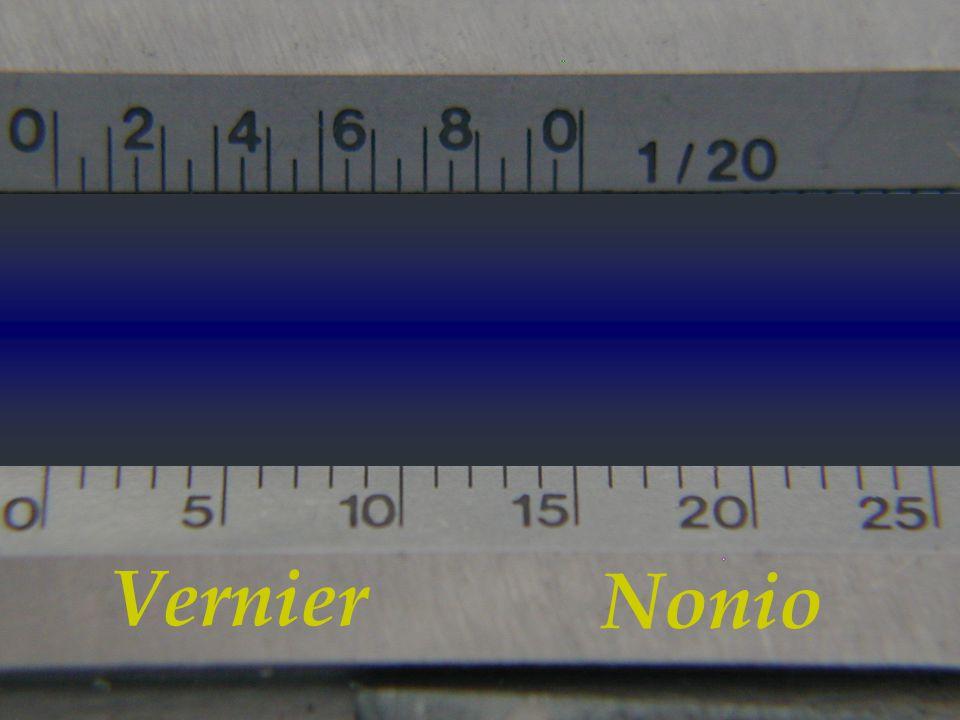 Vernier Nonio