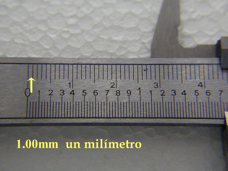 1.00mm un milímetro
