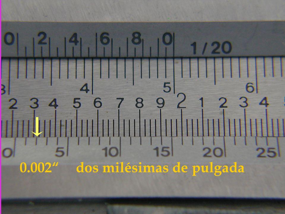 0.002 dos milésimas de pulgada