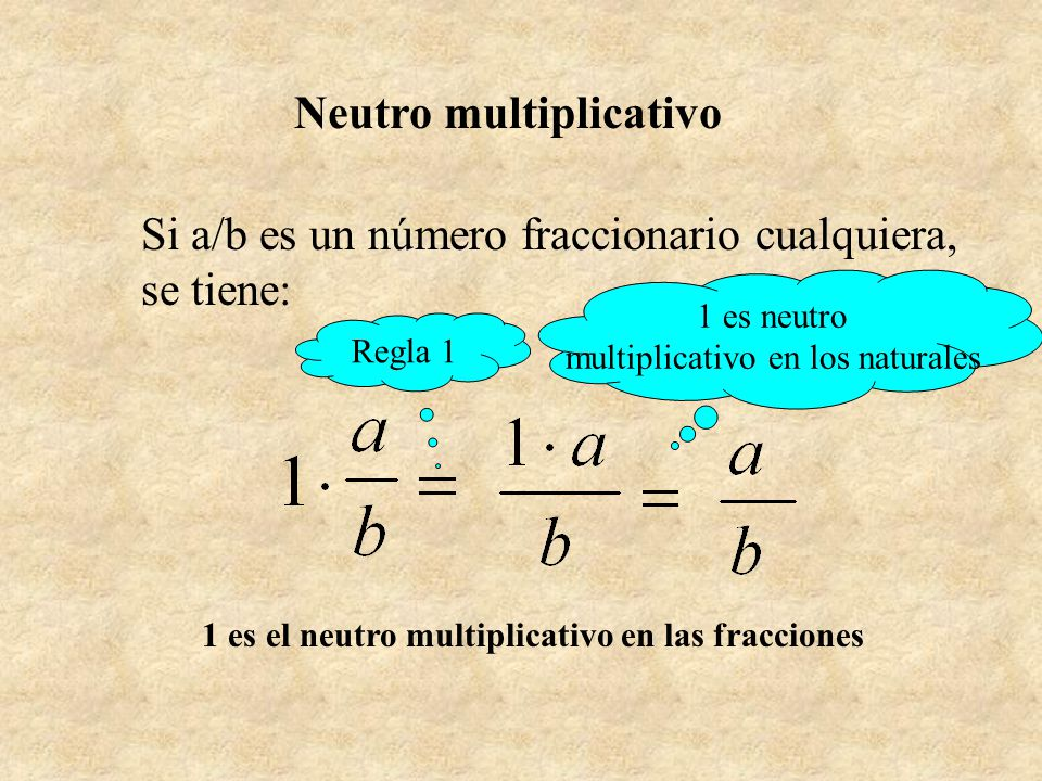 Neutro multiplicativo