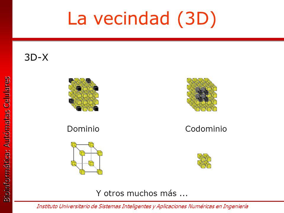 La vecindad (3D) 3D-X Dominio Codominio Y otros muchos más ...