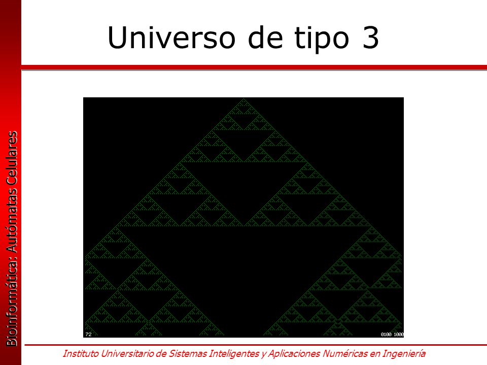 Universo de tipo 3