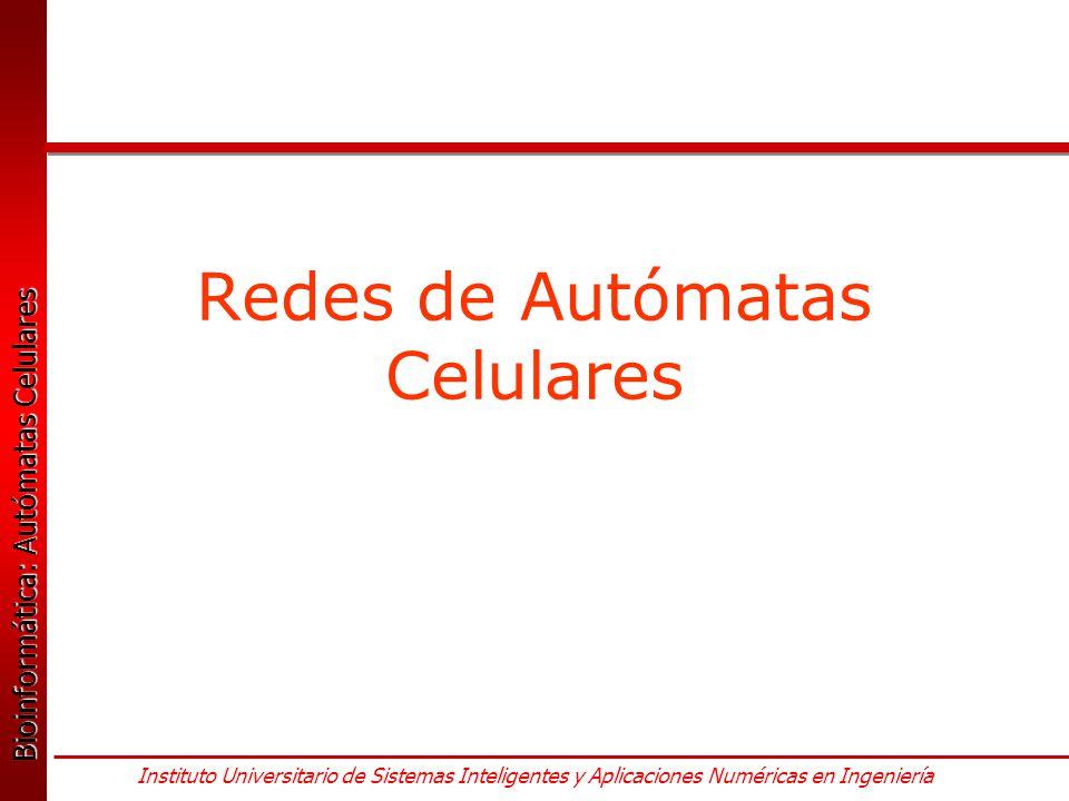 Redes de Autómatas Celulares