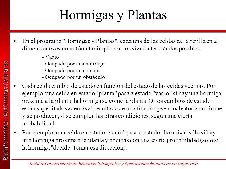 Hormigas y Plantas
