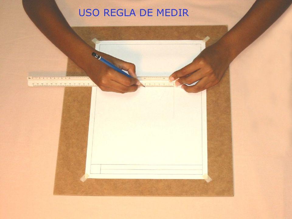 USO REGLA DE MEDIR