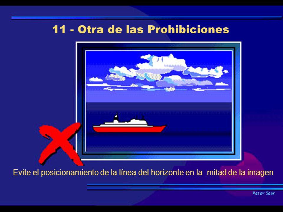 11 - Otra de las Prohibiciones