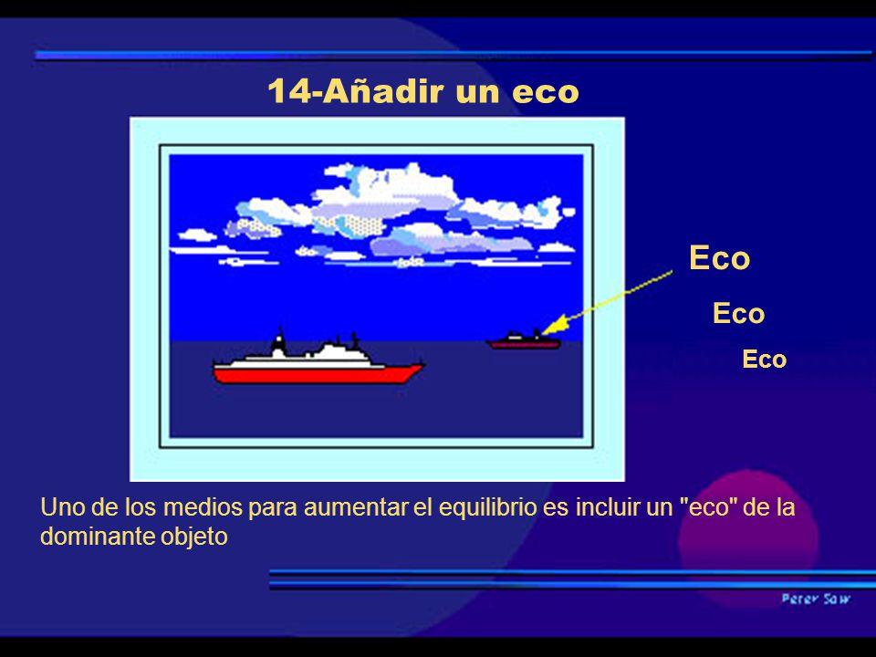 14-Añadir un eco Eco.