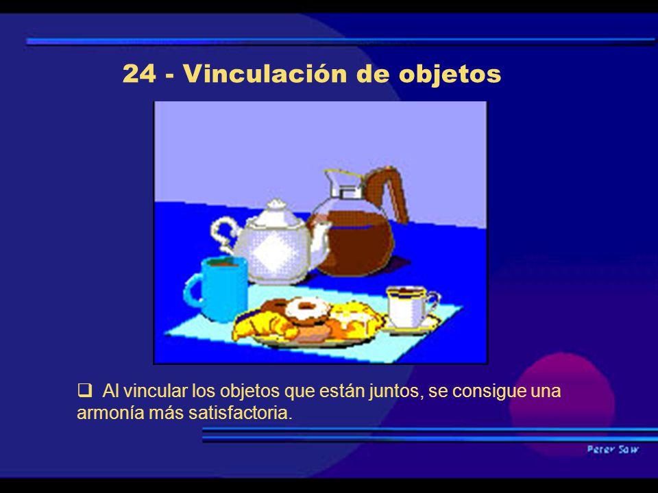 24 - Vinculación de objetos