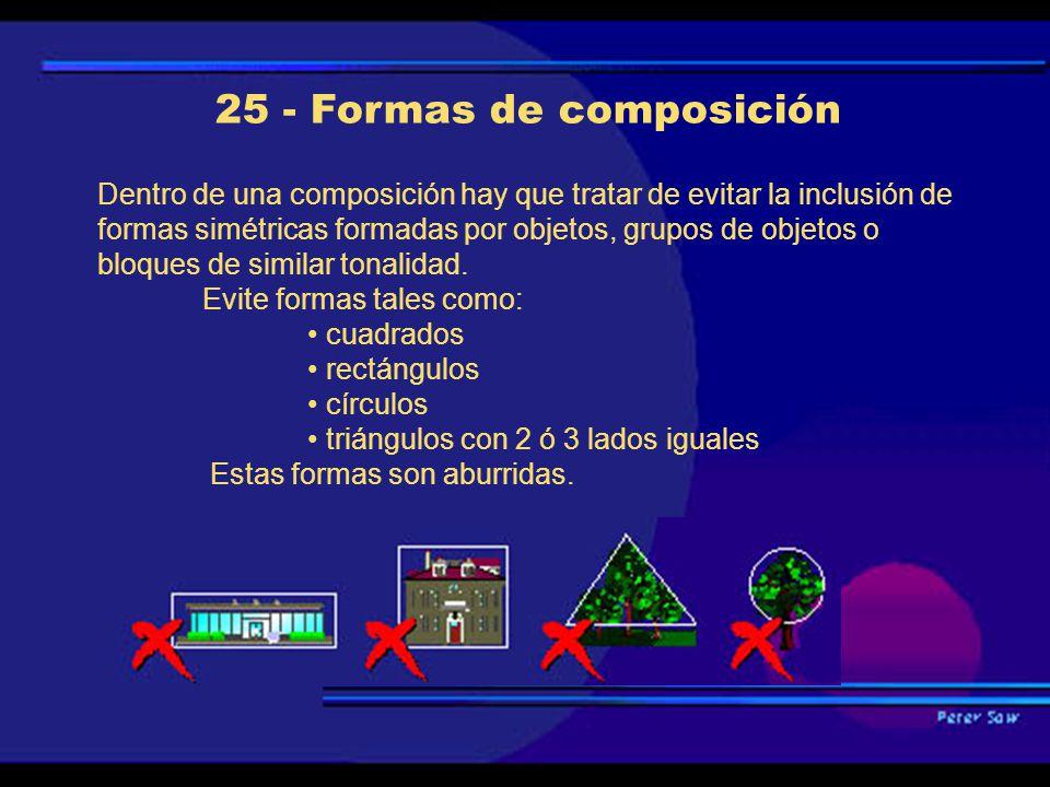 25 - Formas de composición