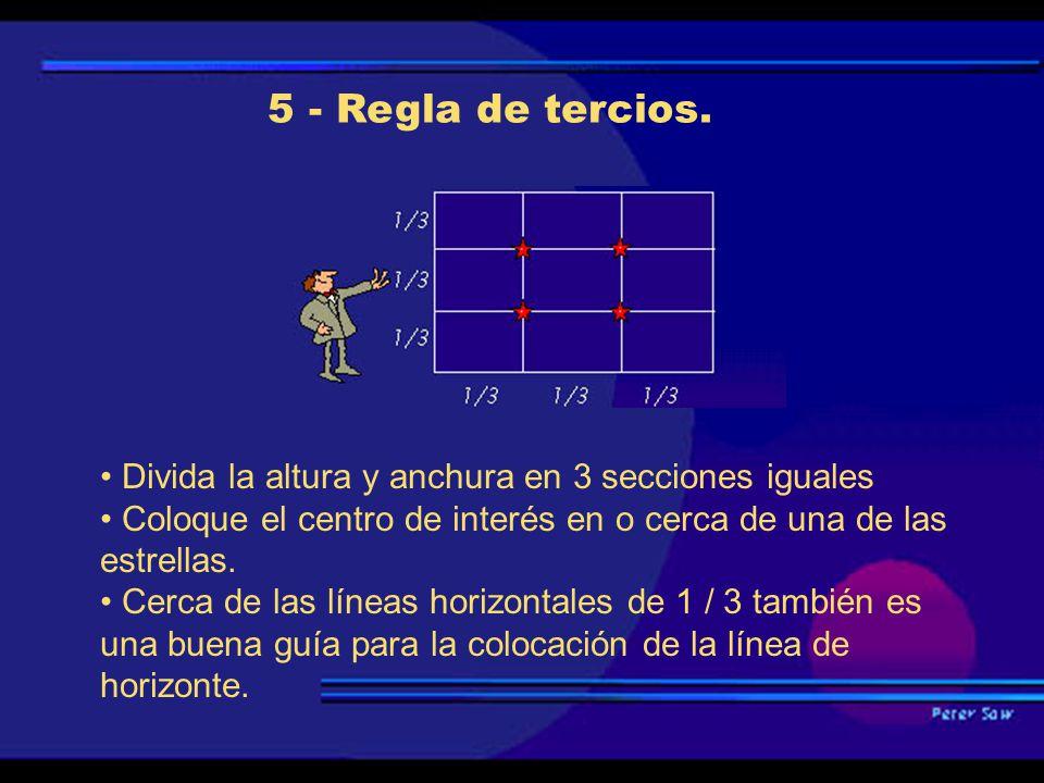 5 - Regla de tercios.