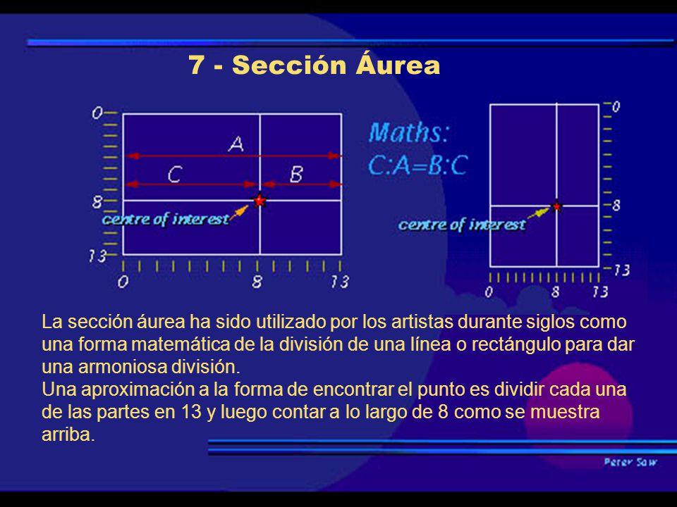 7 - Sección Áurea