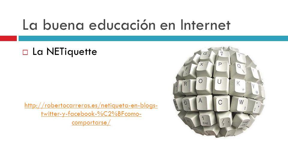 La buena educación en Internet