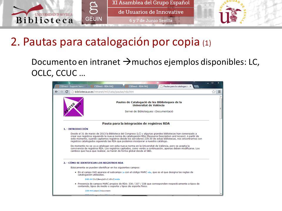 2. Pautas para catalogación por copia (1)