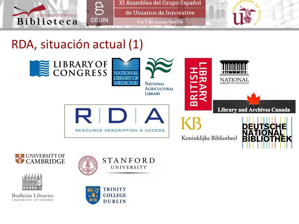 RDA, situación actual (1)
