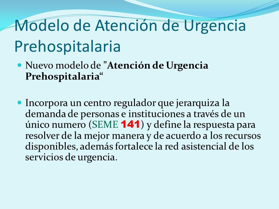 Modelo de Atención de Urgencia Prehospitalaria