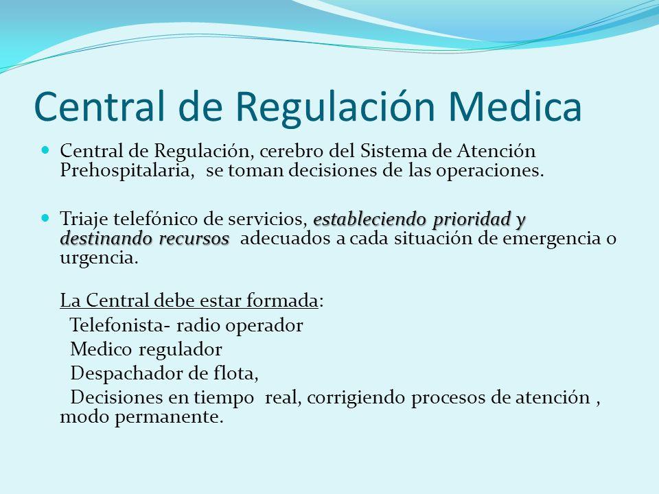 Central de Regulación Medica
