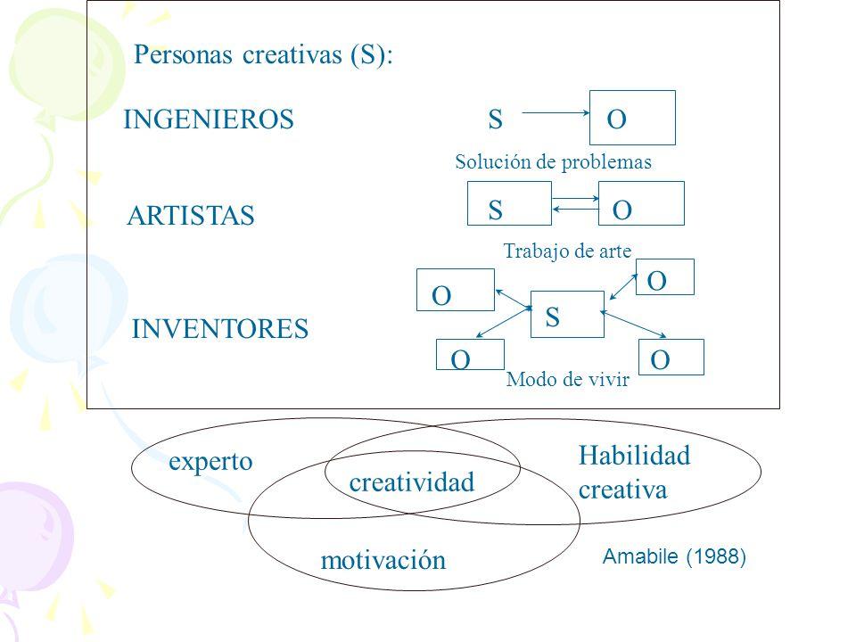 Personas creativas (S):