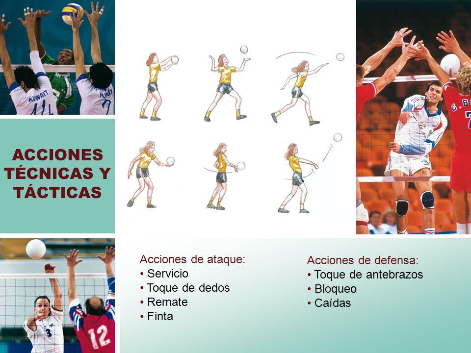 ACCIONES TÉCNICAS Y TÁCTICAS