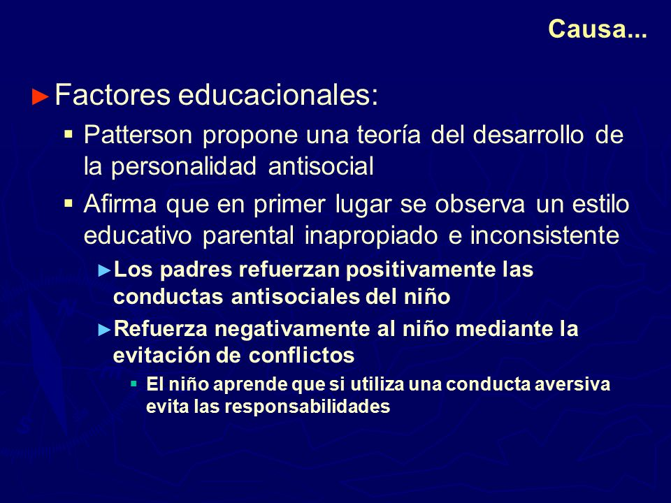 Factores educacionales: