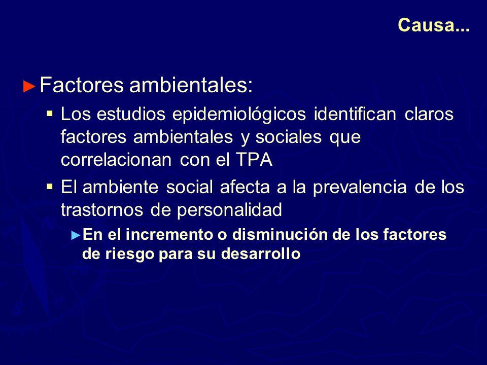 Factores ambientales: