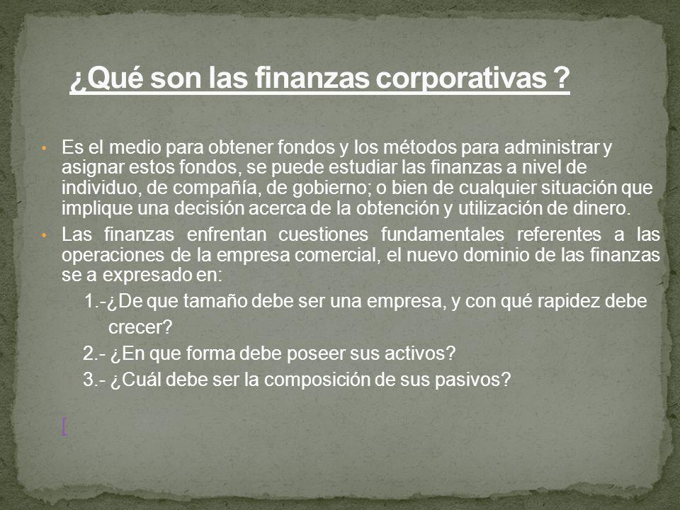 ¿Qué son las finanzas corporativas