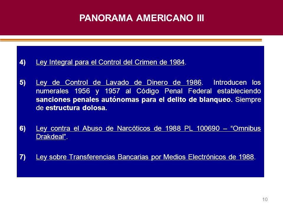 PANORAMA AMERICANO III