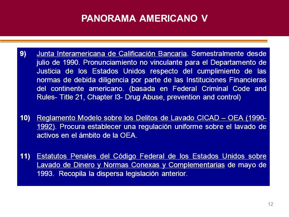PANORAMA AMERICANO V