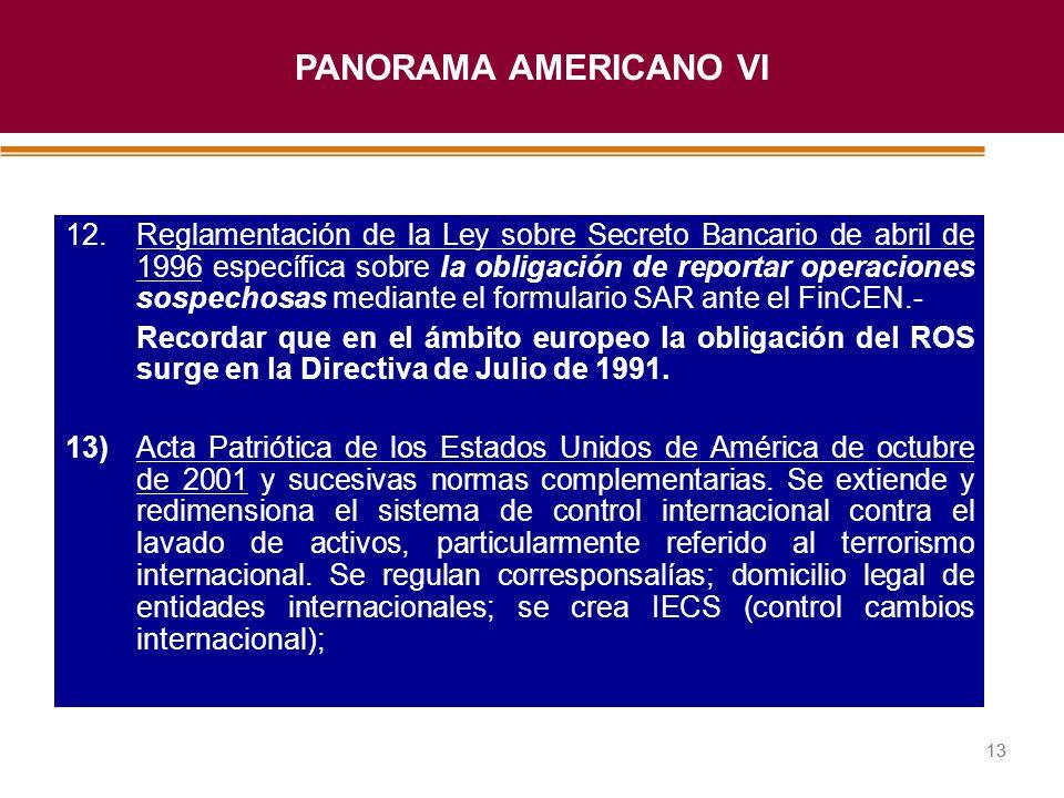 PANORAMA AMERICANO VI