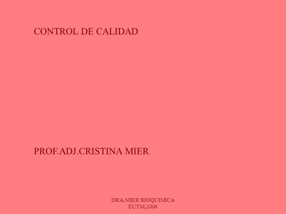 DRA.MIER BIOQUIMICA EUTM,2006