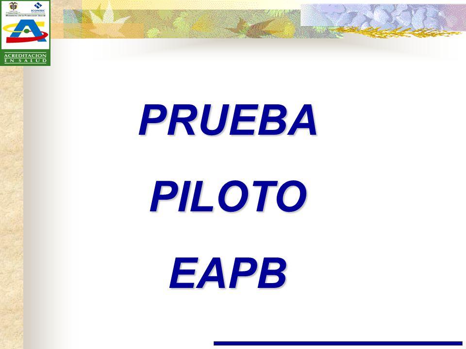 PRUEBA PILOTO EAPB
