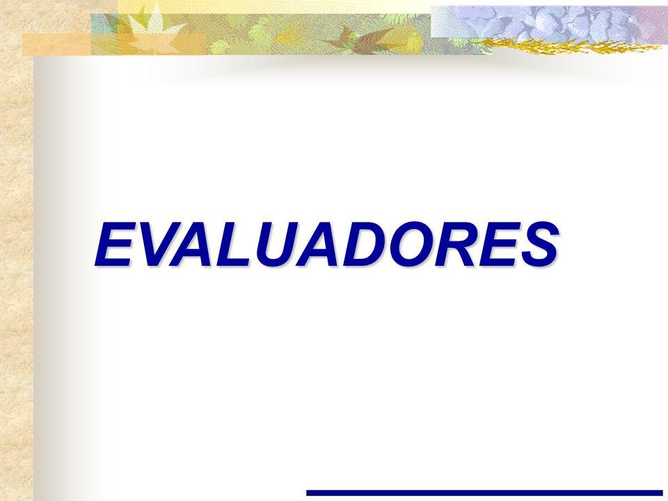 EVALUADORES