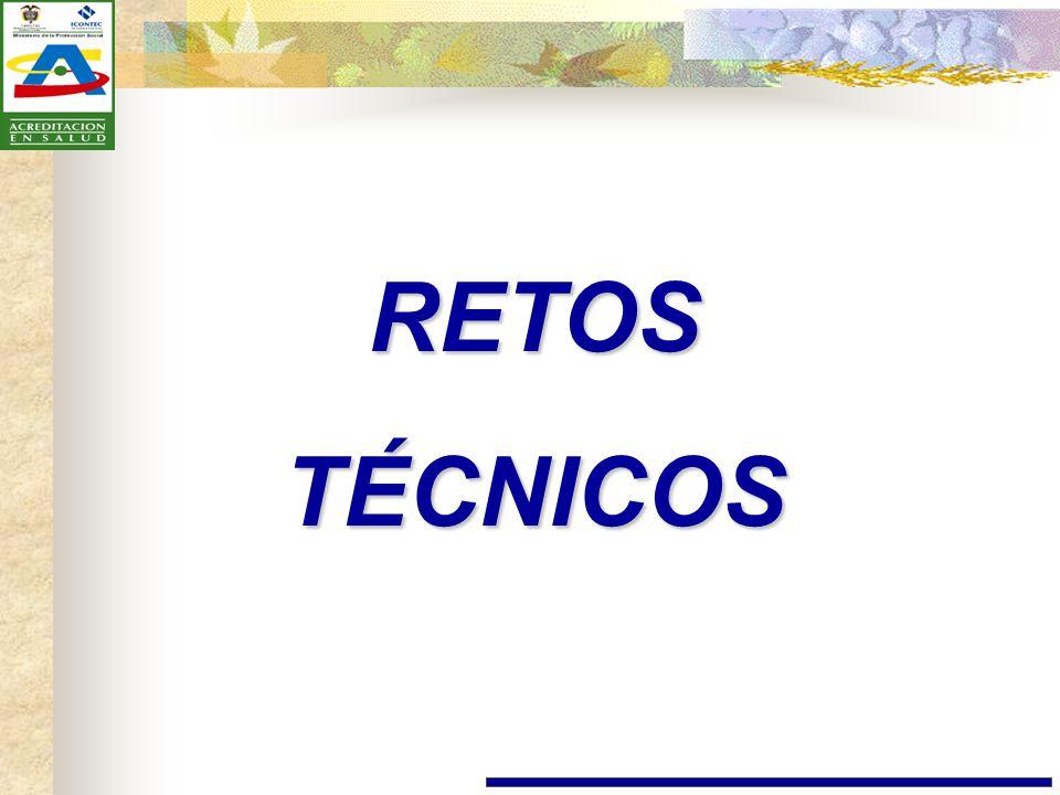 RETOS TÉCNICOS