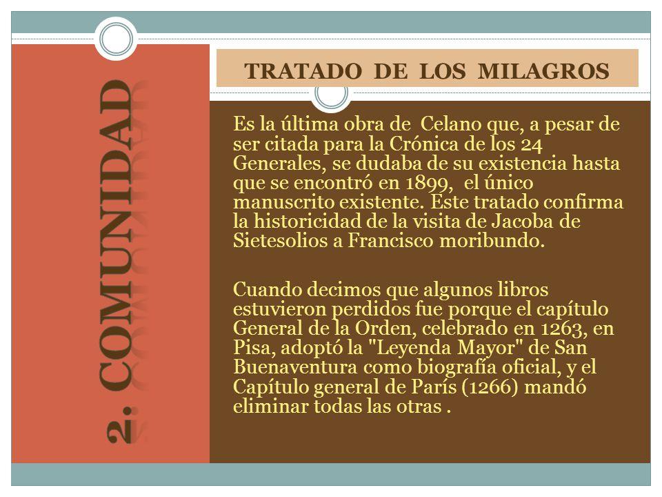 TRATADO DE LOS MILAGROS
