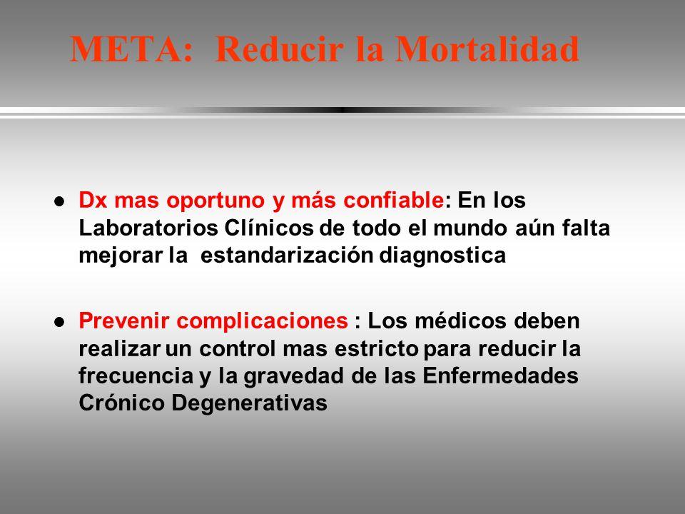 META: Reducir la Mortalidad