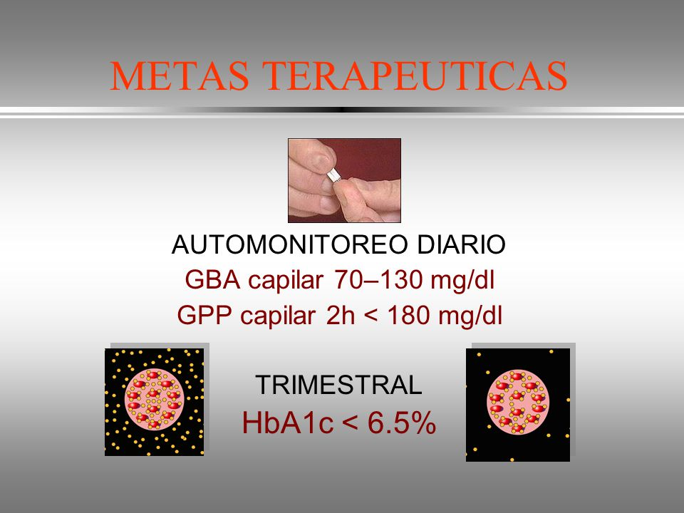 GPP capilar 2h < 180 mg/dl