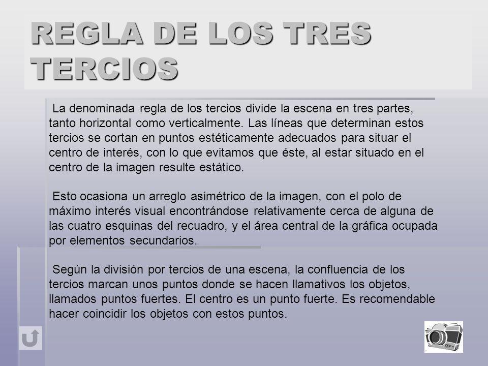 REGLA DE LOS TRES TERCIOS