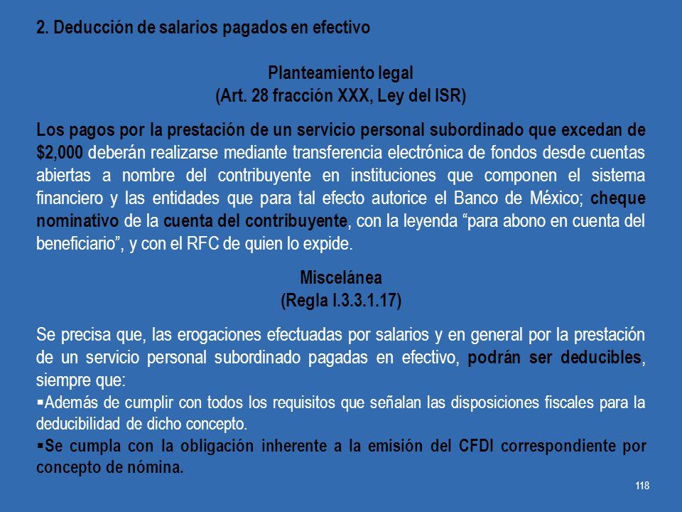 (Art. 28 fracción XXX, Ley del ISR)