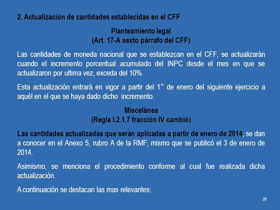 (Art. 17-A sexto párrafo del CFF) (Regla I.2.1.7 fracción IV cambió)