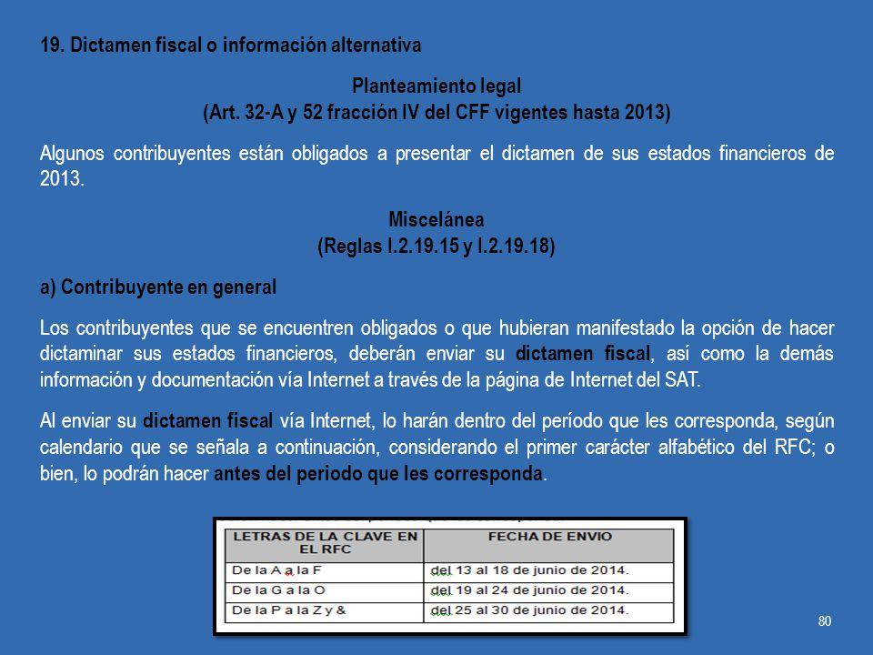 (Art. 32-A y 52 fracción IV del CFF vigentes hasta 2013)