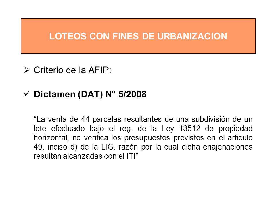 LOTEOS CON FINES DE URBANIZACION